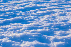 Abstract snow background at sunset lights Royalty Free Stock Photography