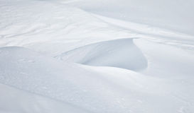 Abstract snow drifts background Royalty Free Stock Images