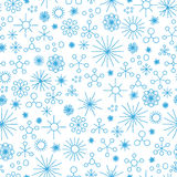Abstract snow fall seamless Royalty Free Stock Photo