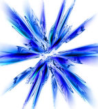 abstract snow flake Stock Images