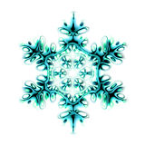 abstract snow flake royalty free illustration