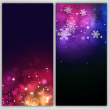 Abstract Snow Multicolor Banners Stock Image