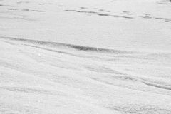 Abstract snow shapes - snow texture Stock Image
