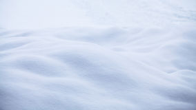 Abstract snow shapes Stock Photography