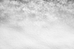 Abstract snow texture background with silver snowflake Royalty Free Stock Images