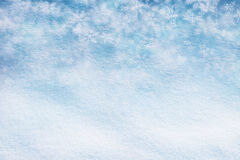 Abstract snow texture snowflake copy space background Stock Images