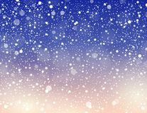 Abstract snow theme background 6 Royalty Free Stock Images