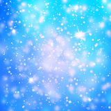 Abstract snowfall or rainfall background illustration background. Abstract snowfall or rainfall background with drops, snowflakes and sparkle illustration Stock Image