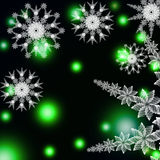 Abstract snowflake Stock Photos