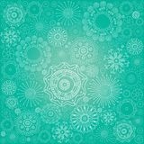 Abstract snowflake background. Abstract festive blue snowflake background Royalty Free Stock Photos