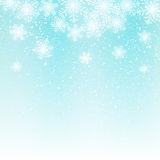 Abstract snowflake background. Abstract light blue snowflake background for Your design Royalty Free Stock Images