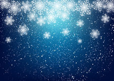Abstract snowflake background Royalty Free Stock Photography