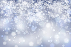 Abstract snowflake Christmas background Stock Photo