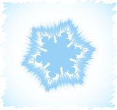 Abstract snowflake Royalty Free Stock Photo