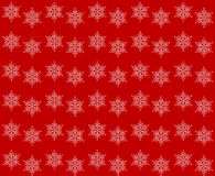 Abstract snowflakes pattern Royalty Free Stock Image