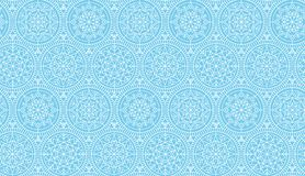 Abstract snowflakes vector background. Stock Photo