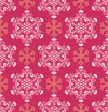 Abstract snowflakes Royalty Free Stock Images