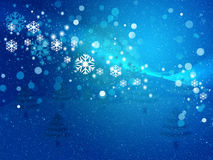 Abstract snowy background Stock Photography