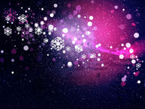 Abstract snowy background Stock Photos