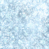 Abstract snowy background with snowflakes Royalty Free Stock Photo