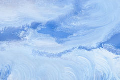Abstract snowy background from watercolor Royalty Free Stock Images