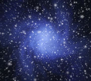 Abstract snowy Christmas background Royalty Free Stock Photos