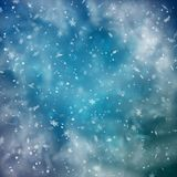 Abstract Snowy Background vector illustration