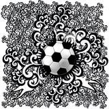 Abstract soccer Stock Images