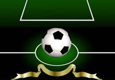 Abstract soccer background Royalty Free Stock Photo