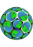 Abstract soccer ball Stock Photos