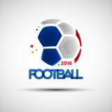 Abstract Soccer Ball Royalty Free Stock Image