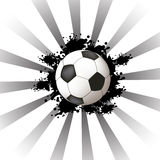 Abstract soccer design Royalty Free Stock Photo