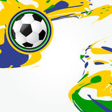 Abstract soccer game design Stock Photos