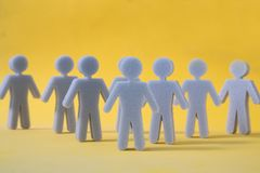Abstract Social network concept. stock image
