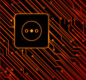 The abstract socket Stock Images