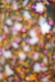 Abstract soft christmas lights Stock Photo