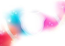 Abstract soft colobackground for design. Vector illustration with space for message Stock Photography