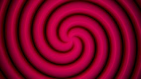 Abstract soft color spiral shape dotted animation background. Color abstract spiral.  stock video footage