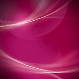 Abstract soft line and bokeh on magenta and pink background. Royalty Free Stock Images