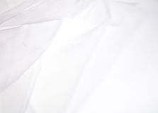 Abstract soft white fabric background Royalty Free Stock Images