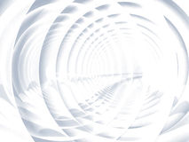 Abstract soft white spiral illustration Stock Photography