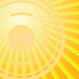 Abstract solar background Stock Photos