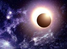 Solar Eclipse Illustration Royalty Free Illustration