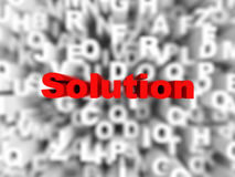Abstract solution background Royalty Free Stock Photo