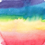 Abstract sophisticated wonderful gorgeous elegant graphic beautiful colorful rainbow pattern watercolor Royalty Free Stock Images