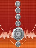 Abstract sound 5.1 Stock Photos