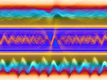 Abstract Sound Analyzer Royalty Free Stock Images