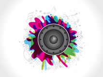 Abstract sound explode Royalty Free Stock Photos