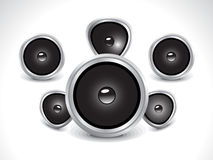 Abstract sound icon Royalty Free Stock Photos