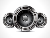 Abstract sound speaker Royalty Free Stock Photos